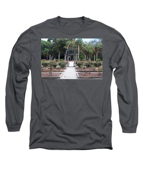 The Ringling Rose Garden Long Sleeve T-Shirt