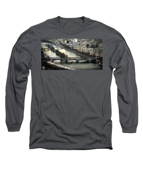 The River Seine - Paris Long Sleeve T-Shirt
