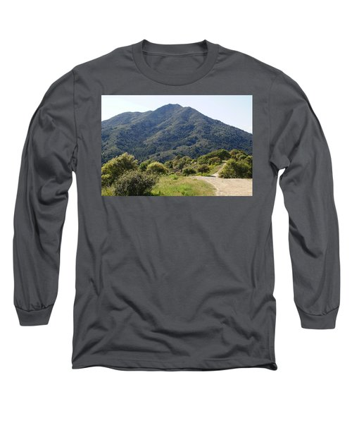 The Road To Tamalpais Long Sleeve T-Shirt
