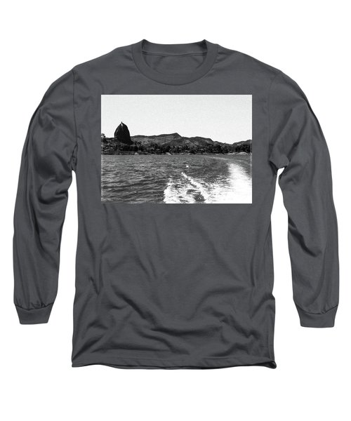 The Rock Of Guatape Long Sleeve T-Shirt