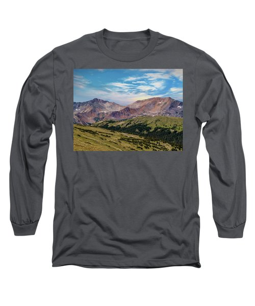 Long Sleeve T-Shirt featuring the photograph The Rockies by Bill Gallagher