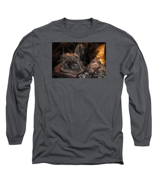 The Rocking Horse Winner Long Sleeve T-Shirt by William Fields