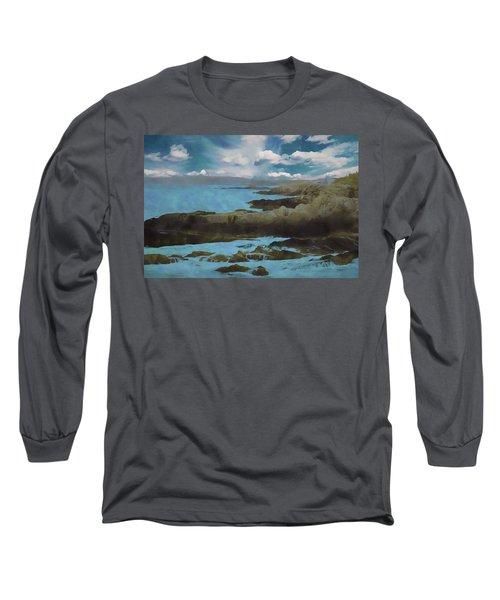 The Rocky Maine Coast. Long Sleeve T-Shirt