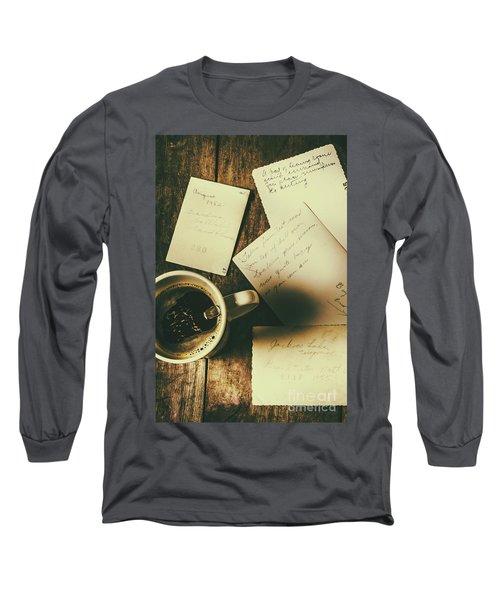The Romantic Writers Loft Long Sleeve T-Shirt