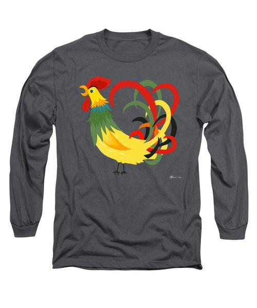 The Rooster Stands Alone Long Sleeve T-Shirt