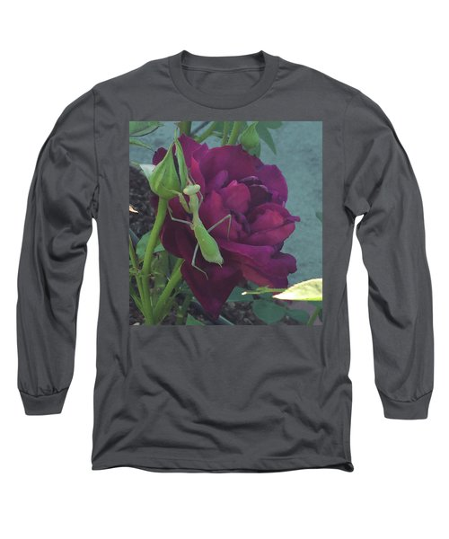 The Rose And Mantis Long Sleeve T-Shirt
