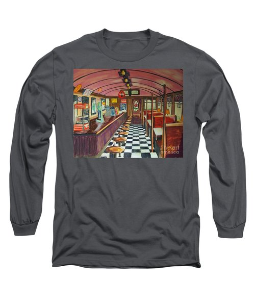 The Rose Diner Long Sleeve T-Shirt