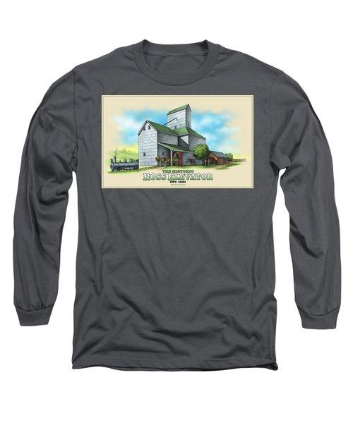 The Ross Elevator Long Sleeve T-Shirt by Scott Ross