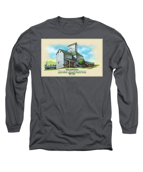 The Ross Elevator Long Sleeve T-Shirt