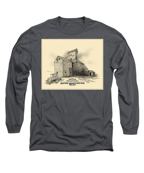 The Ross Elevator Version 2 Long Sleeve T-Shirt by Scott Ross