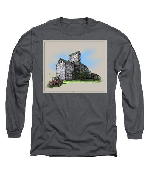 The Ross Elevator Version 5 Long Sleeve T-Shirt by Scott Ross