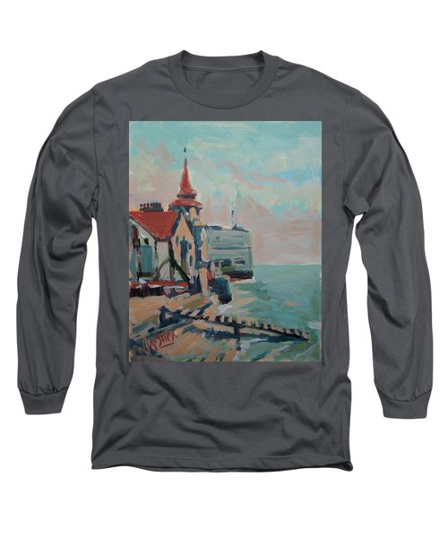The Round Tower Of Portsmouth Long Sleeve T-Shirt