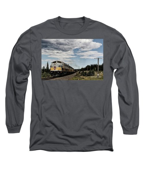The Royal Canadian Pacific  Long Sleeve T-Shirt