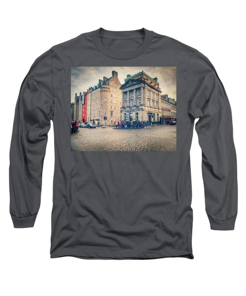 The Royal Mile Long Sleeve T-Shirt by Ray Devlin