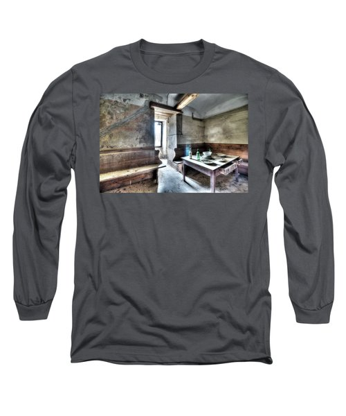 The Rural Kitchen - La Cucina Rustica  Long Sleeve T-Shirt