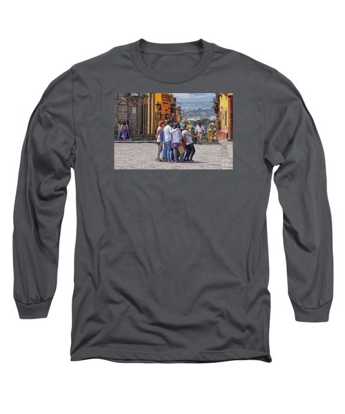 The San Miguel Selfie Long Sleeve T-Shirt