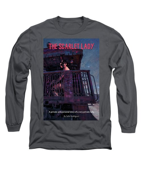 The Scarlet Lady Book Cover Long Sleeve T-Shirt
