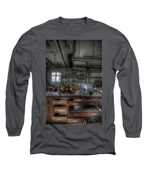Long Sleeve T-Shirt featuring the digital art The Science  by Nathan Wright