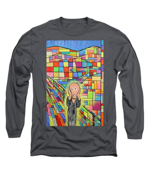 The Scream Jeremy Style Long Sleeve T-Shirt