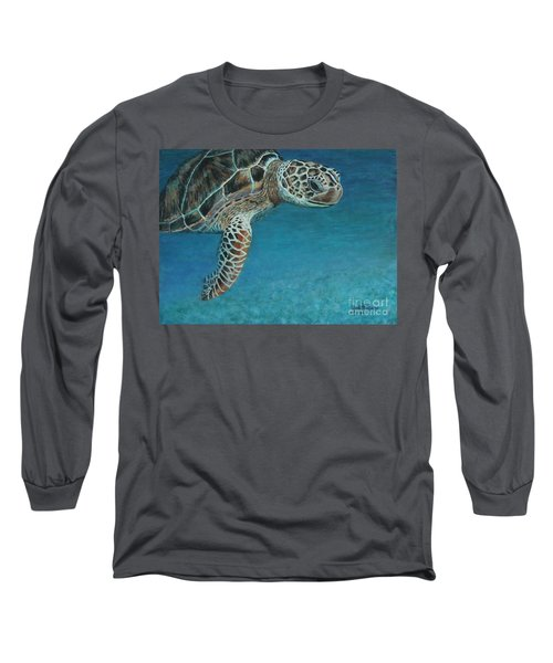 The Giant Sea Turtle Long Sleeve T-Shirt