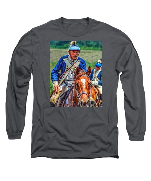 The Second Regiment Light Dragoons 004 Long Sleeve T-Shirt