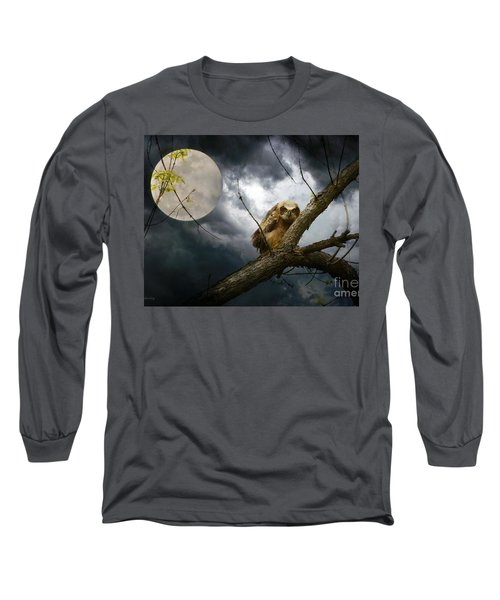 The Seer Of Souls Long Sleeve T-Shirt by Heather King