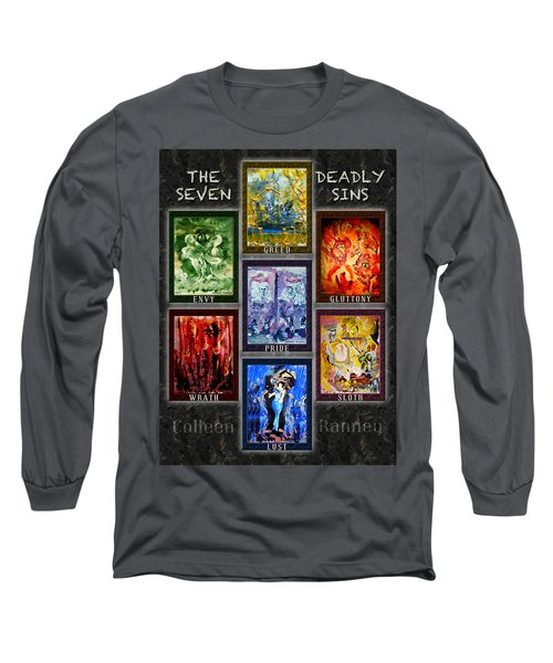 The Seven Deadly Sins Long Sleeve T-Shirt