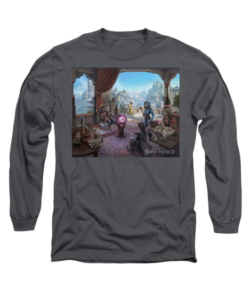 The Shattered Long Sleeve T-Shirt