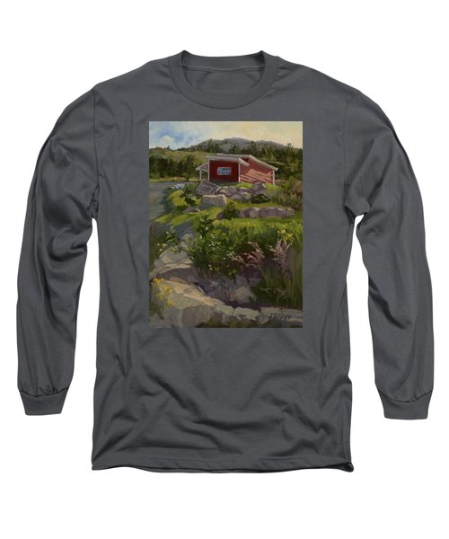 The Shed Long Sleeve T-Shirt by Jane Thorpe