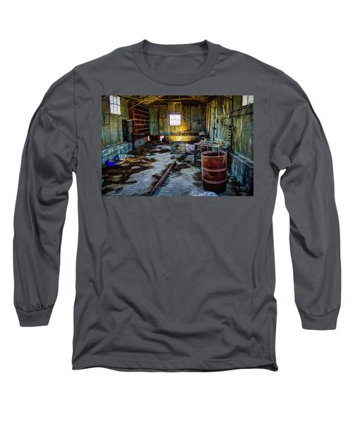 The Sheddwact Secrets Long Sleeve T-Shirt