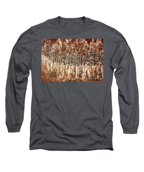 The Shield Wall Long Sleeve T-Shirt