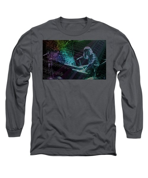 The Show That Never Ends... Long Sleeve T-Shirt by Kenneth Armand Johnson