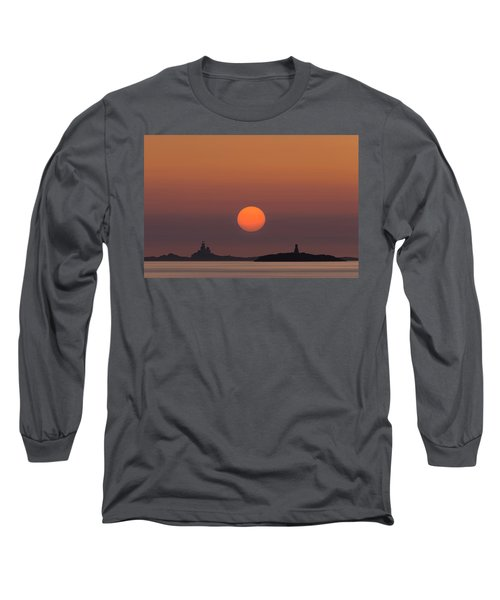 The Skerries Lighthouse  Long Sleeve T-Shirt