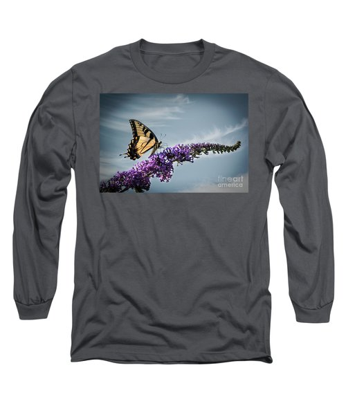 The Sky Is The Limit Long Sleeve T-Shirt by Judy Wolinsky