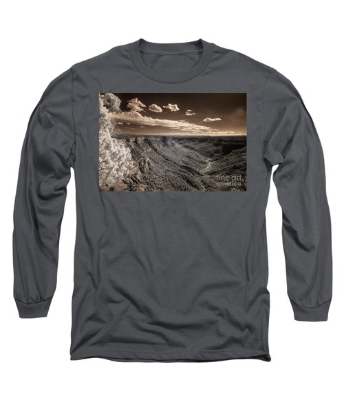 The Sky Tilts Down To The Canyon Long Sleeve T-Shirt