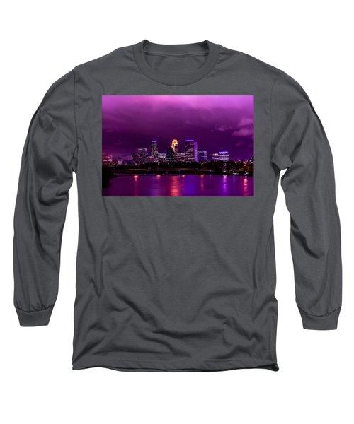 The Sky Was So Purple...  Long Sleeve T-Shirt