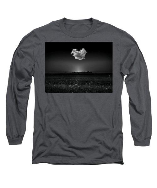 The Smallest Mountain Range Long Sleeve T-Shirt