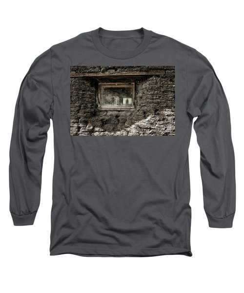 Long Sleeve T-Shirt featuring the photograph The Sod House by Brad Allen Fine Art