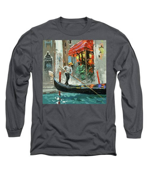 The Sounds Of A Barcarolle Long Sleeve T-Shirt