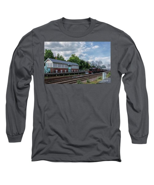 The Spa Express Departing Scarborough Long Sleeve T-Shirt