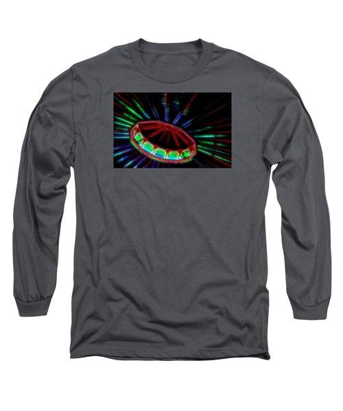 The Spaceship Long Sleeve T-Shirt by Bob Pardue