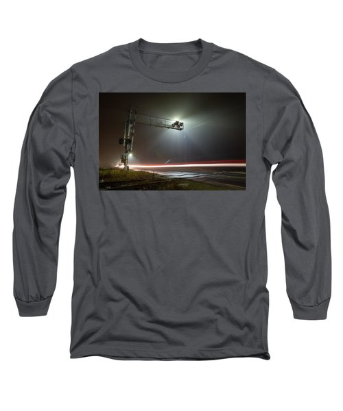 Long Sleeve T-Shirt featuring the photograph The Speed Of Light by Brian Hale