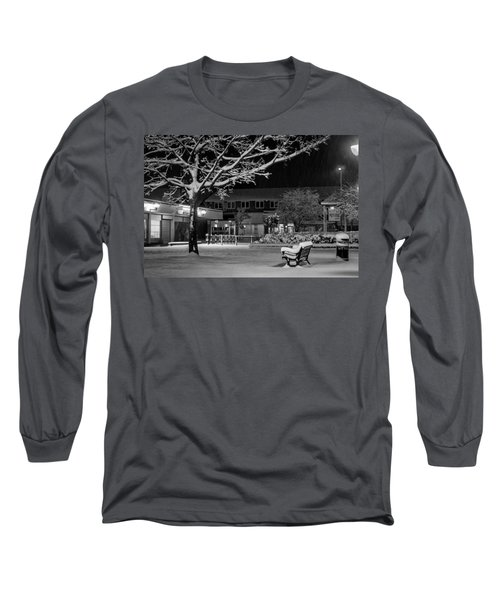 The Square In The Snow Long Sleeve T-Shirt