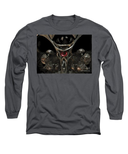 The Staff Of Eternity  Long Sleeve T-Shirt by Melissa Messick