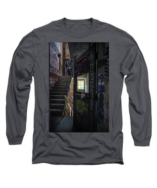 The Stairs Beyond The Door Long Sleeve T-Shirt