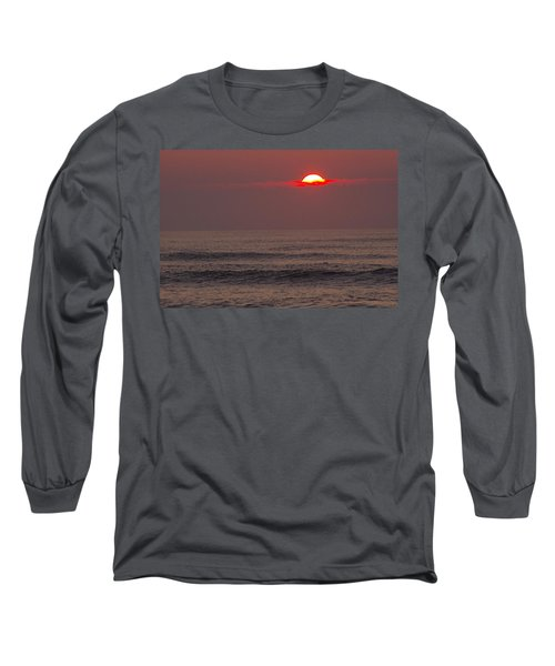Long Sleeve T-Shirt featuring the photograph The Start by Greg Graham