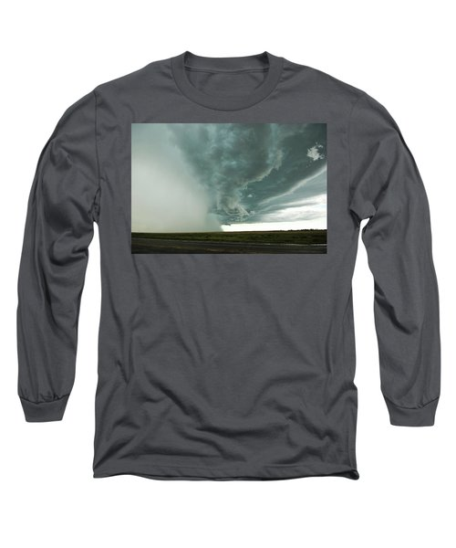 Long Sleeve T-Shirt featuring the photograph The Stoneham Shelf by Ryan Crouse