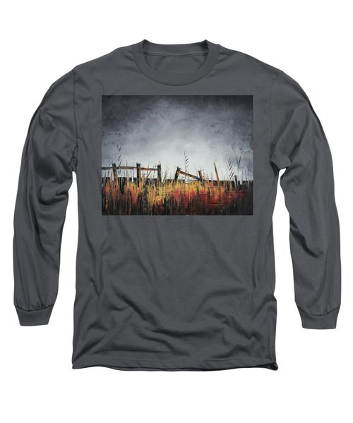 The Stories Were Left Untold Long Sleeve T-Shirt by Carolyn Doe