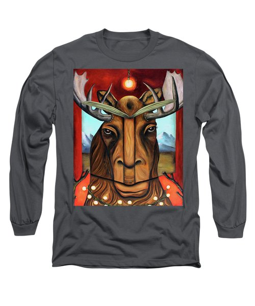 The Story Of Moose Long Sleeve T-Shirt