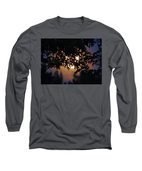 The Strawberry Moon Long Sleeve T-Shirt by Judy Johnson